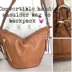 NEW🌸Vince Camuto Jonna Convertible Leather bag